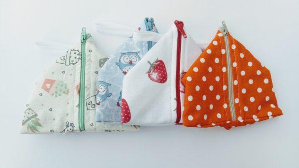 stiri torbice za pralne vlozke