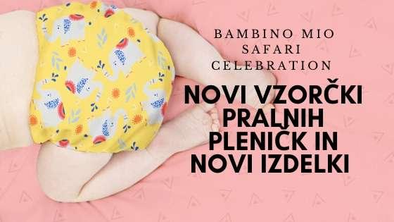 Bambino Mio Pralne pleničke Miosolo