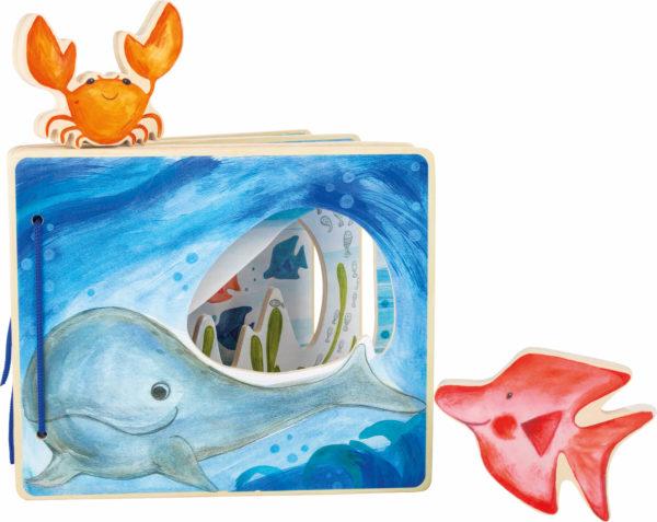 knjiga les Podvodni svet Tidy Owl Legler