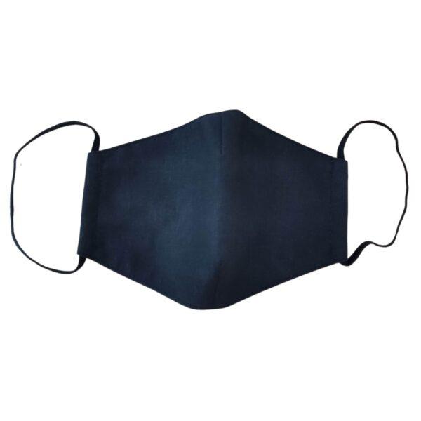 crna pralna maska oval