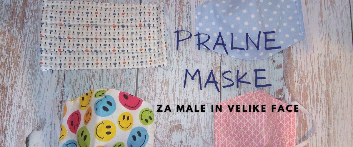 pralna maska obrazna pokrivala